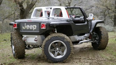 Photo of Inside Design: 2005 Jeep Hurricane Concept: