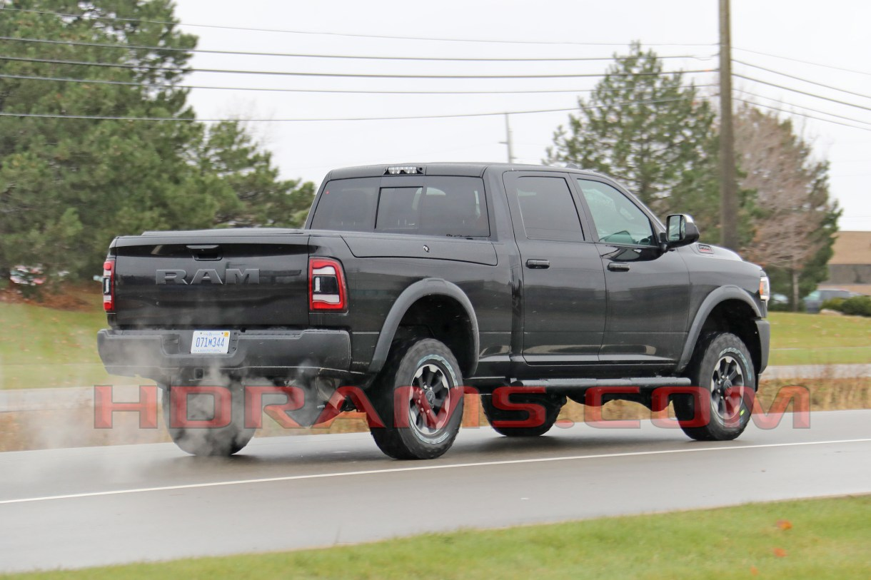 2020 Ram Power Wagon Cummins Engine, Interior, Release Date >> Caught Here It Is The New 2019 Ram 2500 Power Wagon Mopar Insiders