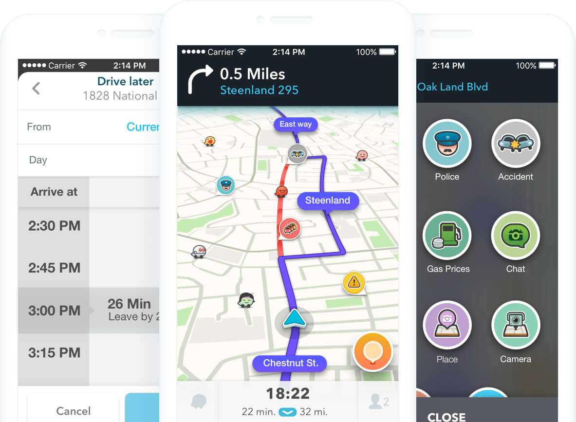 Waze now available on Carplay enabled UConnect systems for