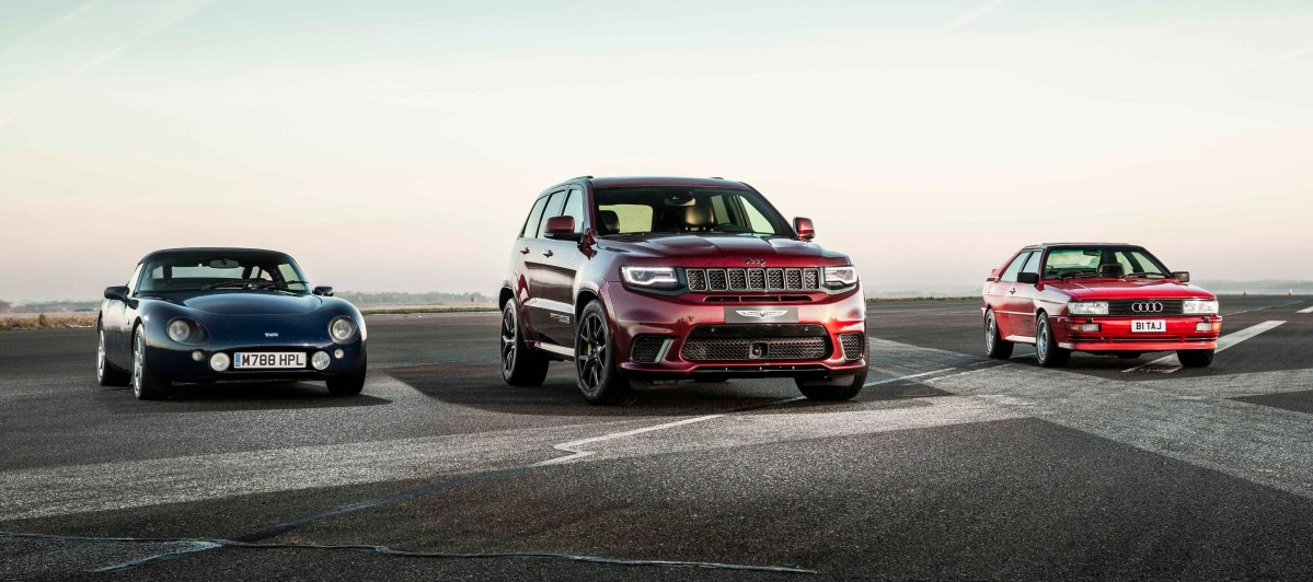Jeep UK Pins The Trackhawk Against Some Of The Popular Former Sport Car Greats: