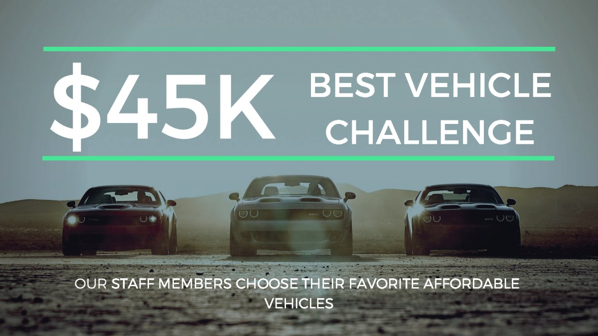 The MoparInsiders Team Does The $45,000 Challenge: