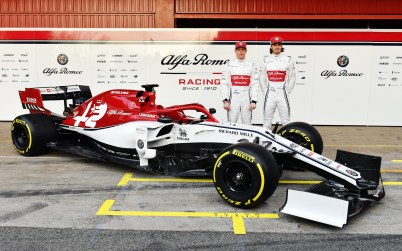 2019 Alfa Romeo Racing F1 C38. (Alfa Romeo Racing).
