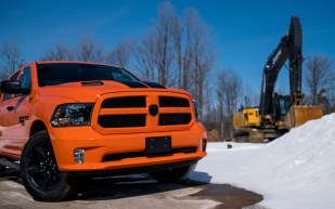2019 Ram 1500 Express Ignition Orange Limited Edition. (400 Chrysler/Dodge/Jeep/Ram).