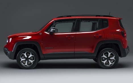 Jeep Renegade Trailhawk PHEV. (Jeep Europe).