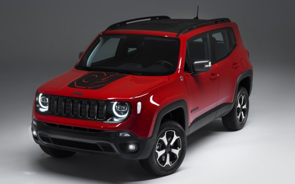 Jeep Renegade Trailhawk PHEV. (Jeep Europe).