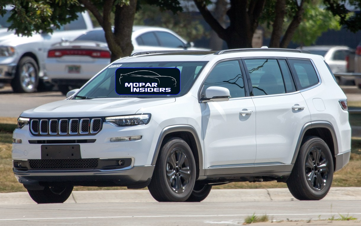 CAUGHT: 2019 Jeep Commander PHEV Out Night Testing ...