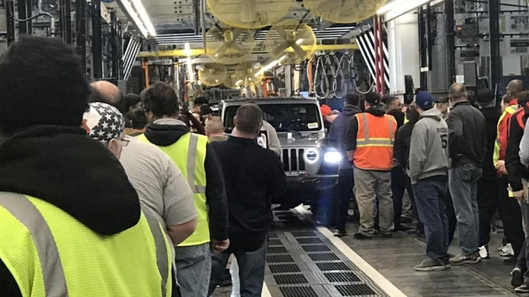 2020 Jeep® Gladiator Production Starts In Toledo: