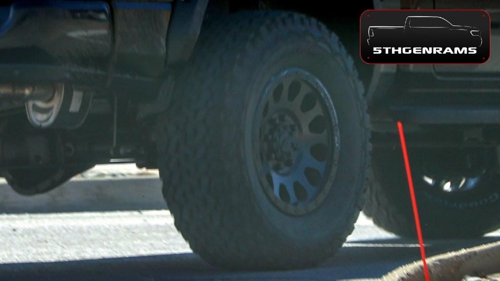 Caught 2021 Ram 1500 Rebel Trx Mule Testing On The Streets Mopar