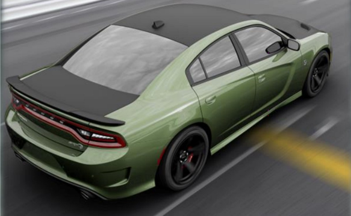Dodge Charger SRT HELLCAT Gets New Satin Black Package