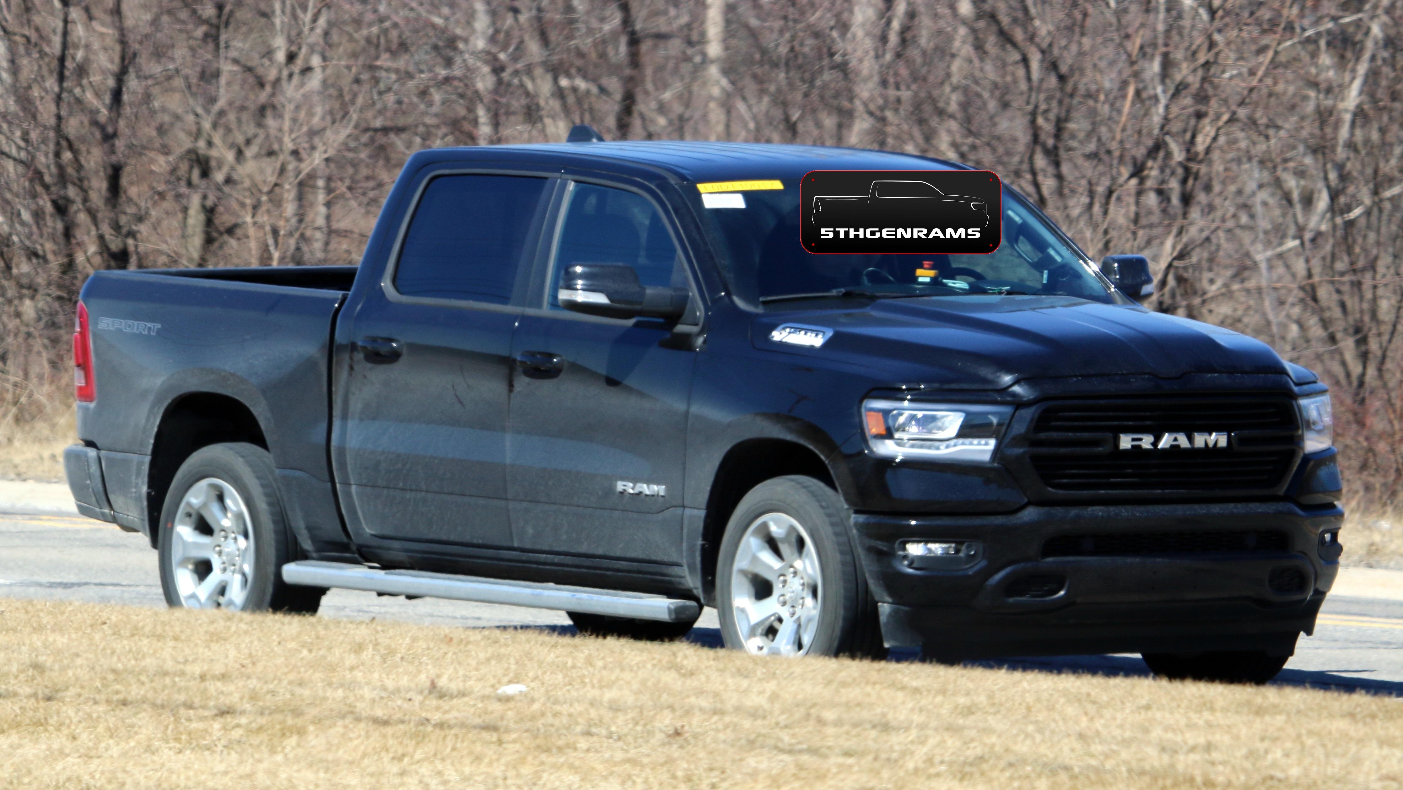 Dodge Ram Ecodiesel >> Spied 2020 Ram 1500 Big Horn Sport Ecodiesel Mopar Insiders