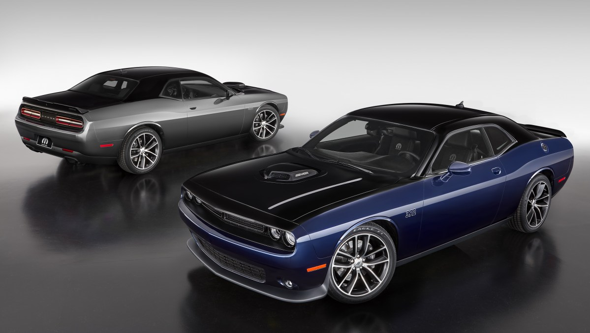 Inside Design: Dodge Challenger Mopar '17 Limited Edition: