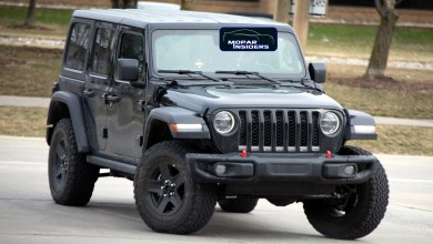 Photo of CAUGHT: 2020 Jeep® Wrangler Unlimited PHEV: