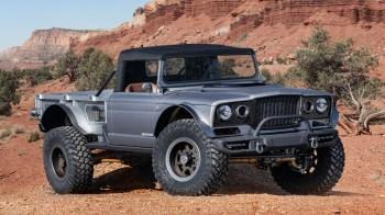 Jeep® M-715 Five-Quarter Concept. (Jeep®).