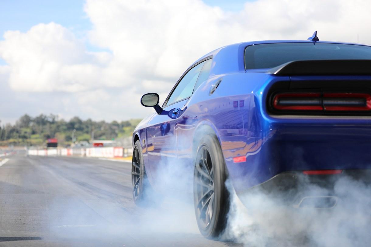 2019 Dodge Challenger 1320 IndiGo blue