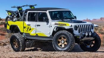 Jeep® Gladiator Flatbill Concept. (Jeep®).
