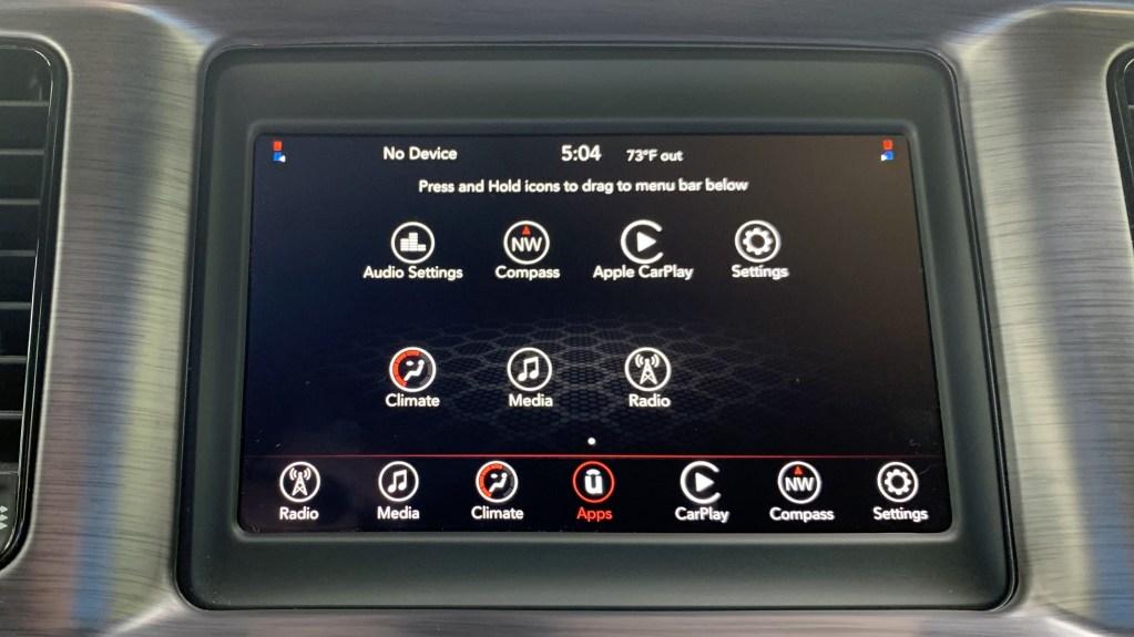 Quick Look: 7-Inch Uconnect Touchscreen Infotainment System: - Mopar