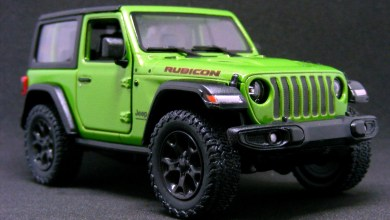 Photo of Collectibles: Kinsmart 2018 Jeep® Wrangler (JL) Diecast: