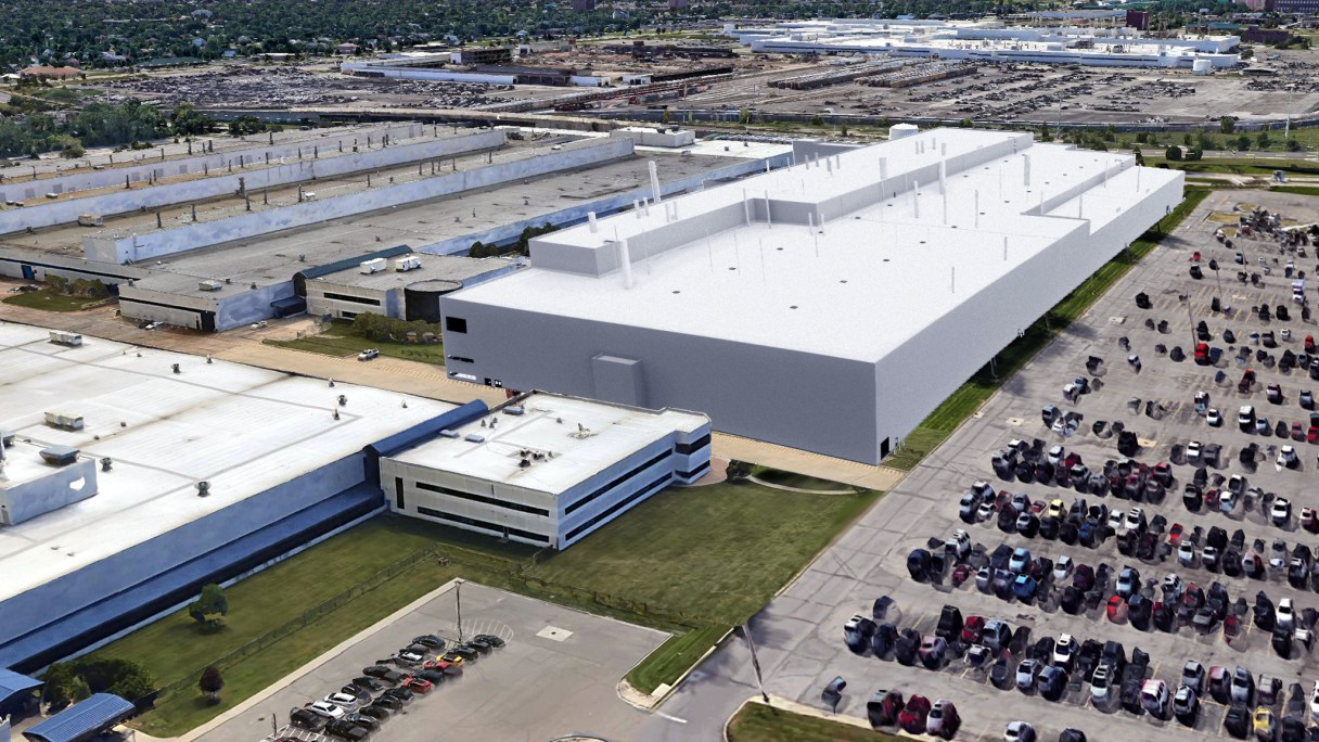 Design Purposal For The New Mack Avenue Assembly Plant. (FCA).
