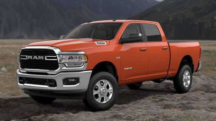 Low Production Paint Options Offer Heavy Duty Buyers More Choices Moparinsiders