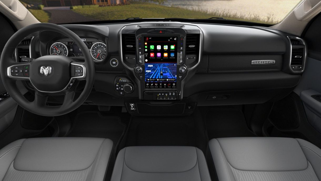 12-Inch Uconnect System Is Now Available On Big Horn Models: - Mopar