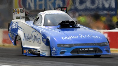 Photo of Johnson Qualifies No. 2 At Route 66 NHRA Nationals: