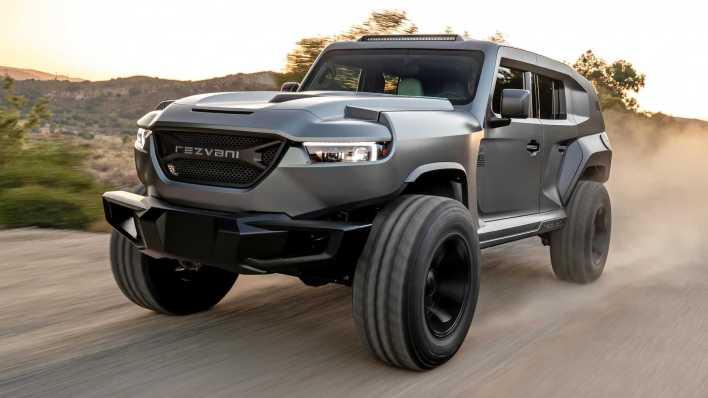 Rezvani Teases Jeep Wrangler Based Hercules 6x6 Mopar Insiders