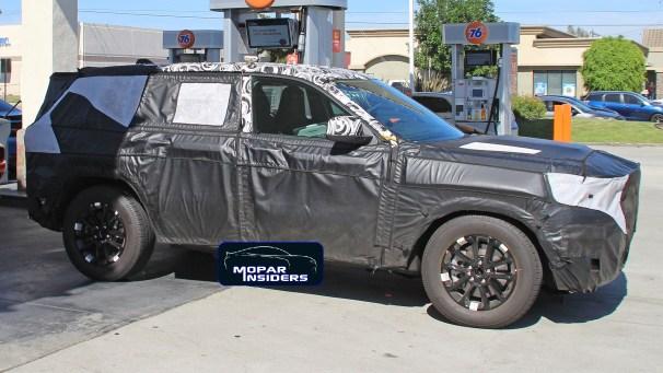 2021 Jeep® Grand Cherokee Prototype. (Spiedbilde).