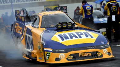 Photo of Ron Capps Breaks Track ET and Speed Records For Mopar Express Lane Nationals: