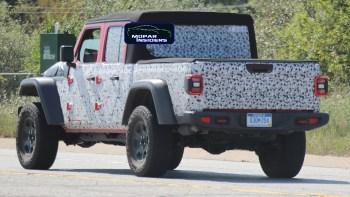 2021 Jeep® Gladiator Hercules Prototype. (Spiedbilde).