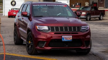 Our long-term 2018 Jeep Grand Cherokee Trackhawk. (MoparInsiders).