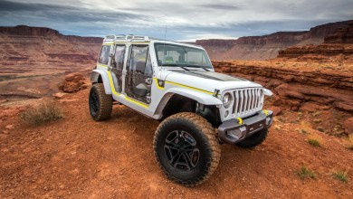 Photo of Inside Design: 2017 Jeep® Safari Concept: