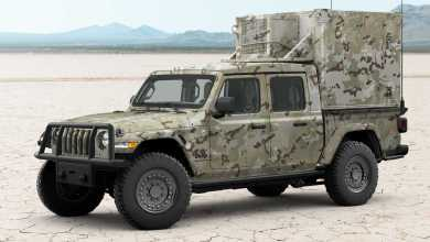 Photo of Jeep® & AM General Team Up To Build Jeep Gladiator XMT Concept: