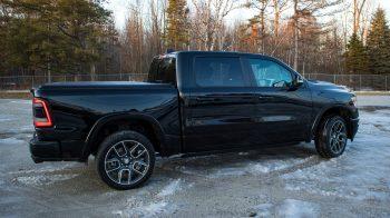 2019 Ram 1500 Laramie Black Crew Cab 4x4. (MoparInsiders).