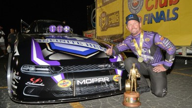Photo of Beckman Wins The Auto Club NHRA Finals In His Hellcat Funny Car: