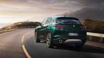 China-Spec 2020 Alfa Romeo Stelvio Ti. (Alfa Romeo China).