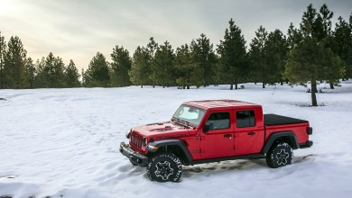 Photo of Jeep® Gladiator Takes Home Official Winter Truck of New England Title: