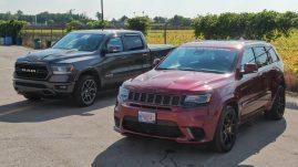 MoparInsiders' Long-Term 2018 Jeep Grand Cherokee Trackhawk & 2019 Ram 1500 Laramie Sport. (MoparInsiders).