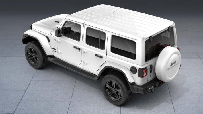 Meet The Jeep Wrangler Night Eagle For The Middle East Mopar
