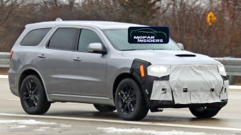 2021 Dodge Durango GT Prototype. (Spiedbilde).