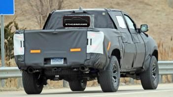 2021 Ram 1500 Rebel TRX Prototype. (Spiedbilde).