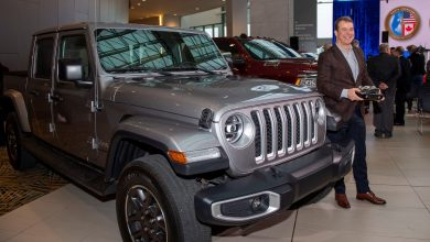 Photo of Jeep® Gladiator Wins North American Truck Of The Year Title:
