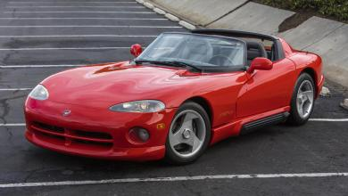 Photo of The Very First Dodge Viper RT/10 Goes To Auction TODAY!