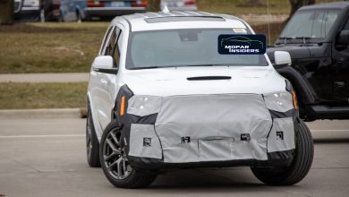 Photo of 2021 Dodge Durango SRT Hellcat New Front Bumper Design Exposed: