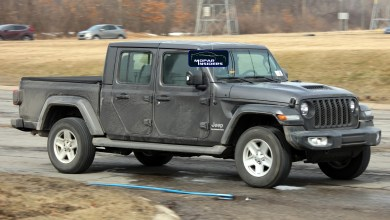 Photo of SPOTTED: Jeep® Gladiator Sport S With New Sport Performance Hood: