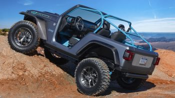Jeep® 4SPEED Concept. (Jeep).