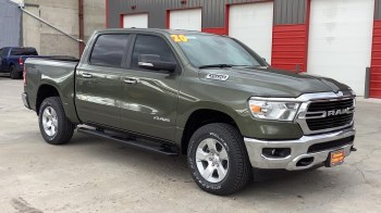 2020 Ram 1500 Big Horn Crew Cab 4x4 Off-Road. (Dishman Dodge).