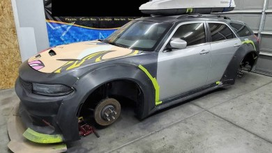 Photo of Vegas Fabricator Building A HELLCAT Dodge Charger Widebody Wagon: