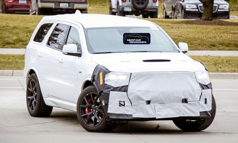 Photo of The 475 Horsepower Dodge Durango SRT Will Return For 2021 Model Year: