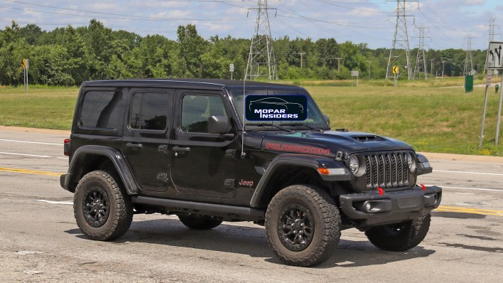 Jeep Wrangler 392 out testing