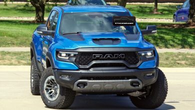 Photo of CAUGHT: 2021 Ram 1500 TRX In Hydro Blue Hits The Streets: